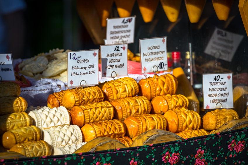 Tradicionális füstölt sajt, oscypek