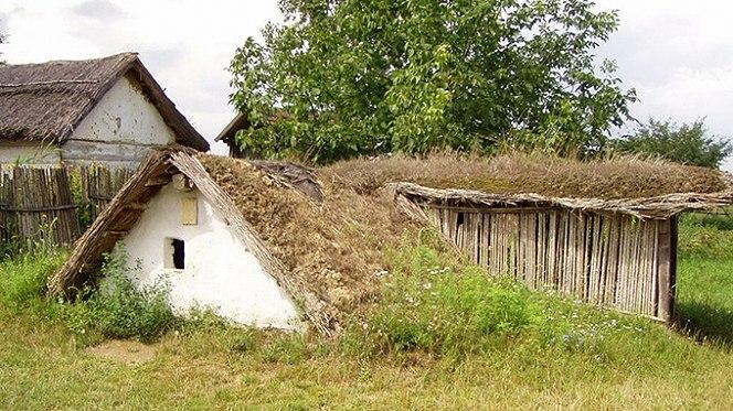Árpád-kori falu (f: magyarnemzetiparkok.hu)