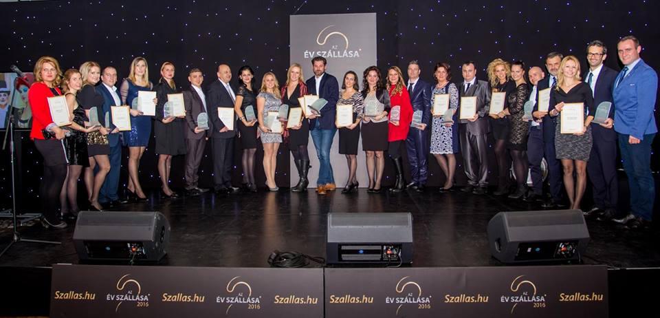 A 2016-os év díjazottjai
