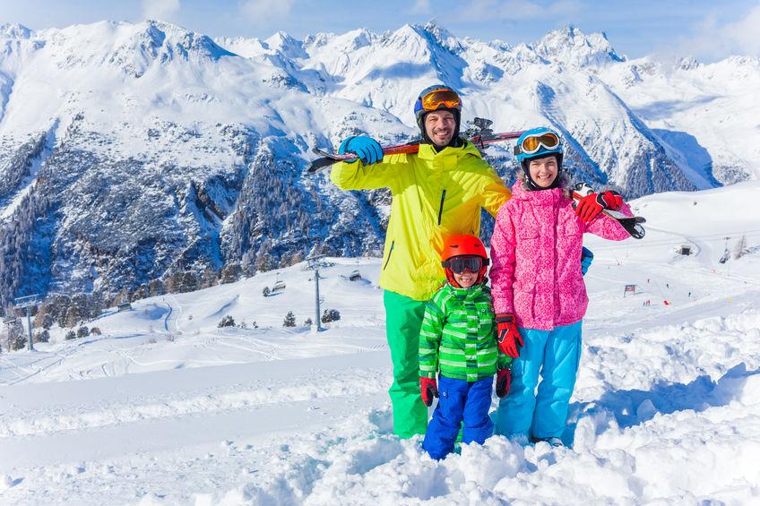 skiing, winter fun