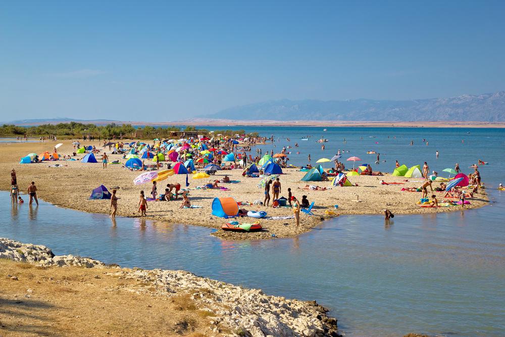 Homokos tengerpartok Horvátországban