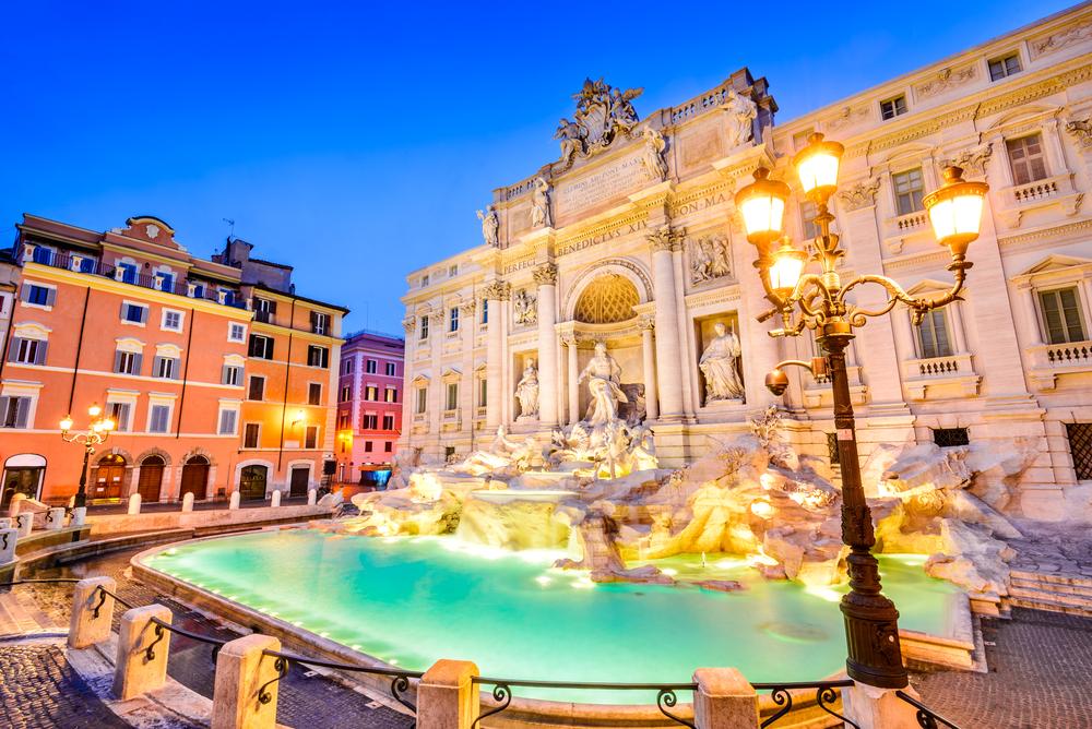 Trevi-kút, Róma