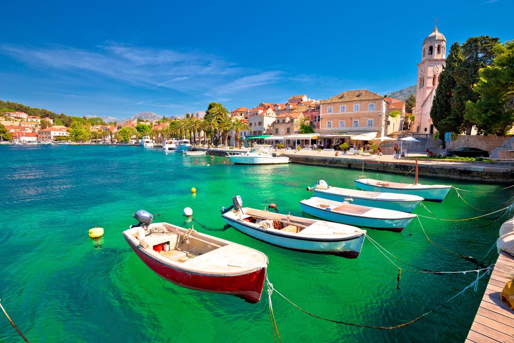 Cavtat,  városok, Horvátország