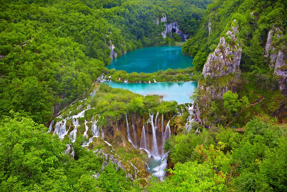 Plitvicei, horvátország