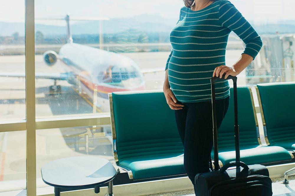 várandósság, repülés