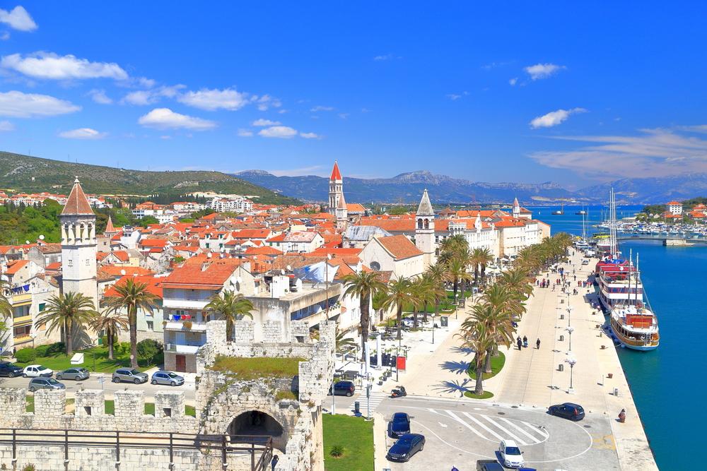 Trogir,  városok, Horvátország