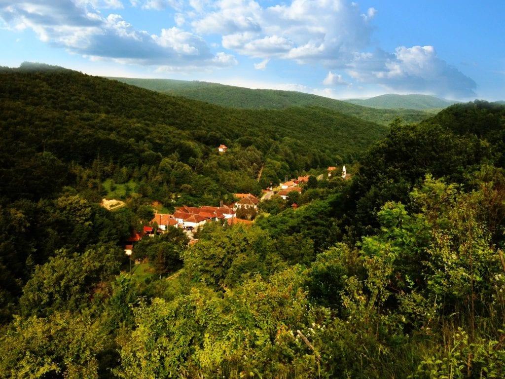 Vágáshuta, falvak