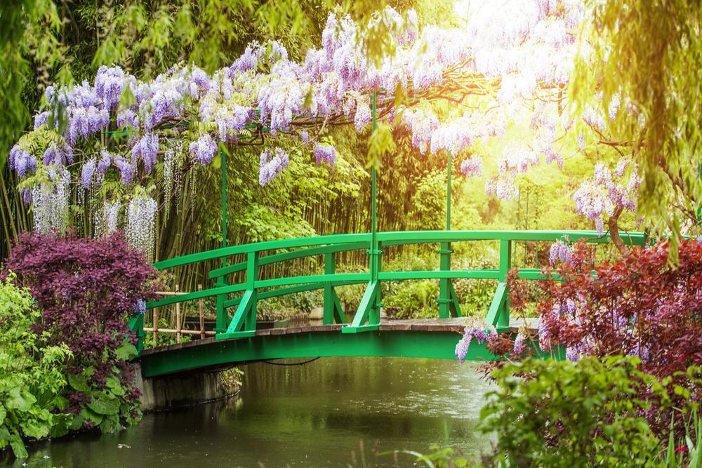 Virágos tavasz Giverny