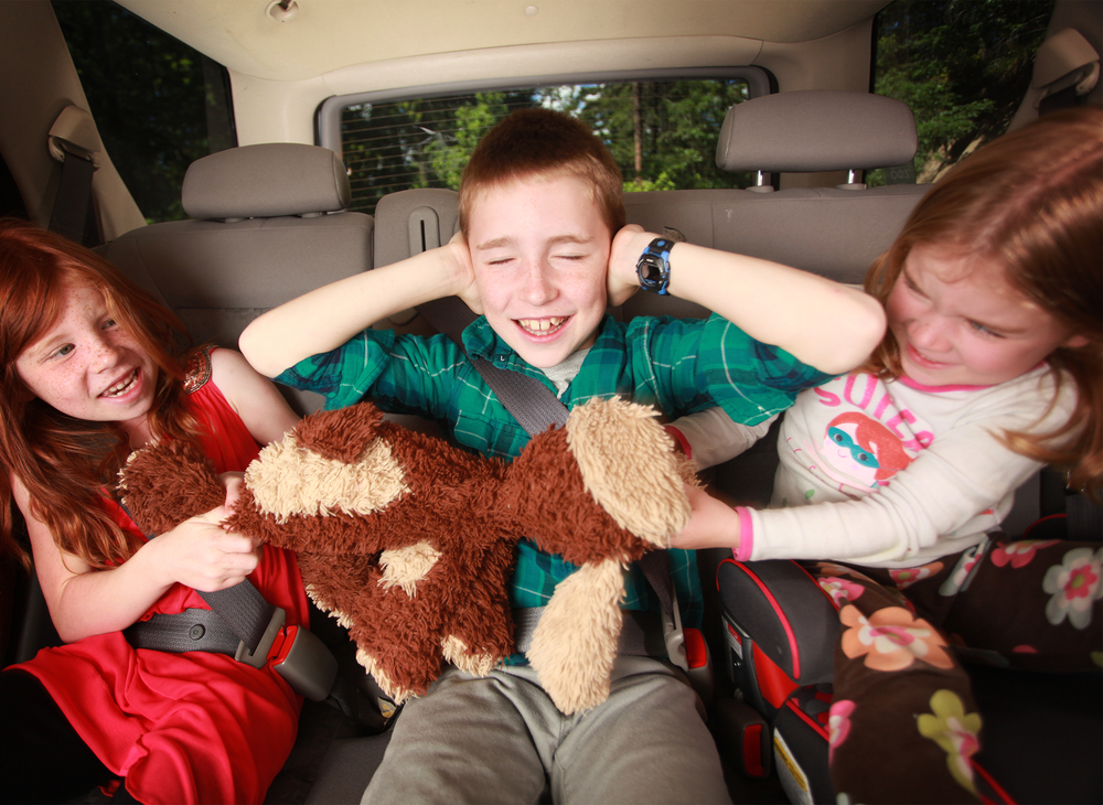 autóút gyerekekkel