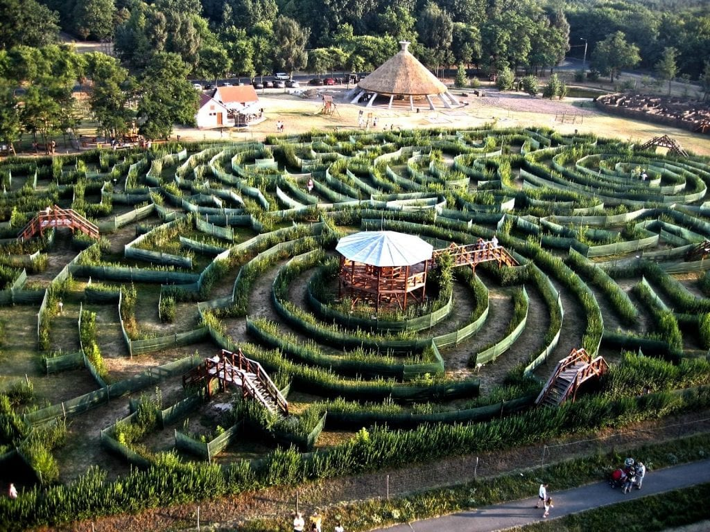 labirintus Ópusztaszer
