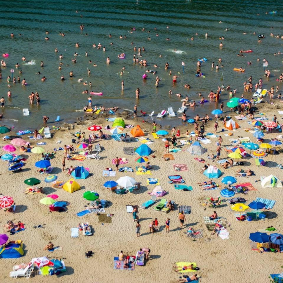 Homokos strandok belföldön, valóságos tengerpart Magyarországon - Csongrád, Körös-torok