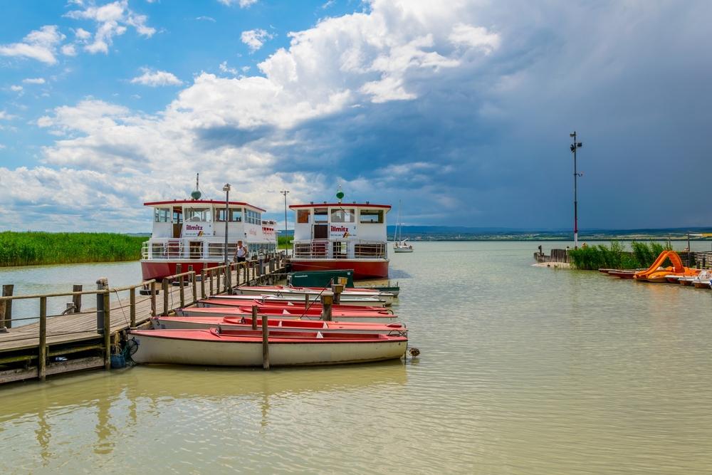 Fertő tó Ausztriában és Magyarországon