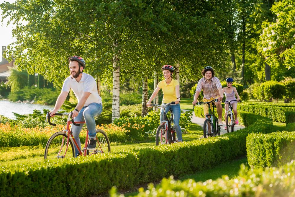 Kerékpártúra Tisza-tó
