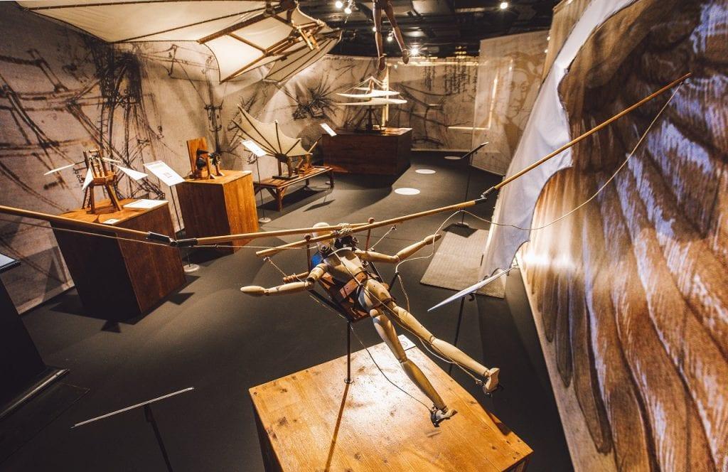 Leonardo Da Vinci kiállítás Budapesten