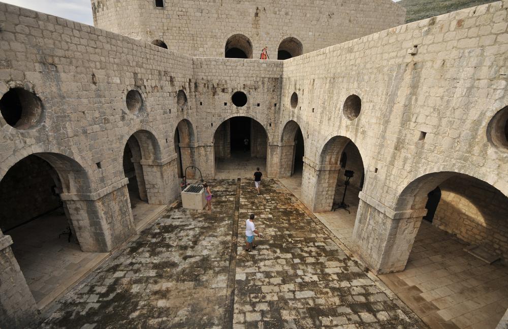 Lovrijenac erőd, Dubrovnik - Királyvár fő forgatási helyszíne