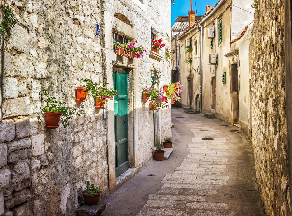 romantikus sikátorok Horvátországban