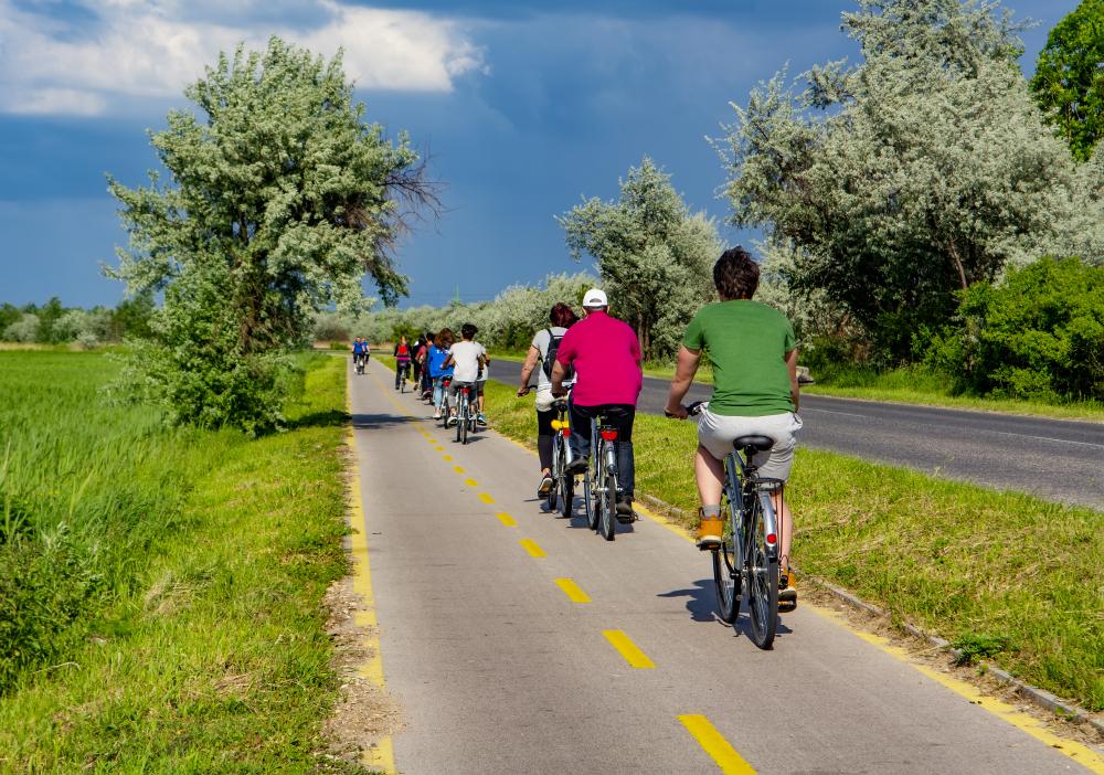 Kerékpártúra Velencei-tó