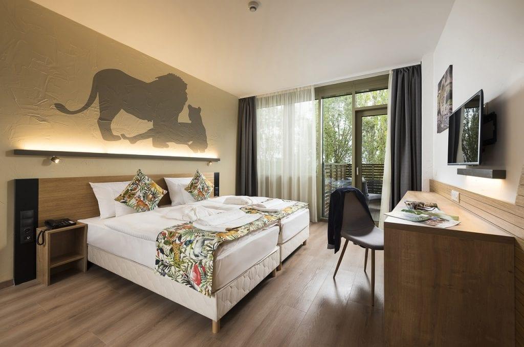 Hotel Pangea - állatkerti szálloda