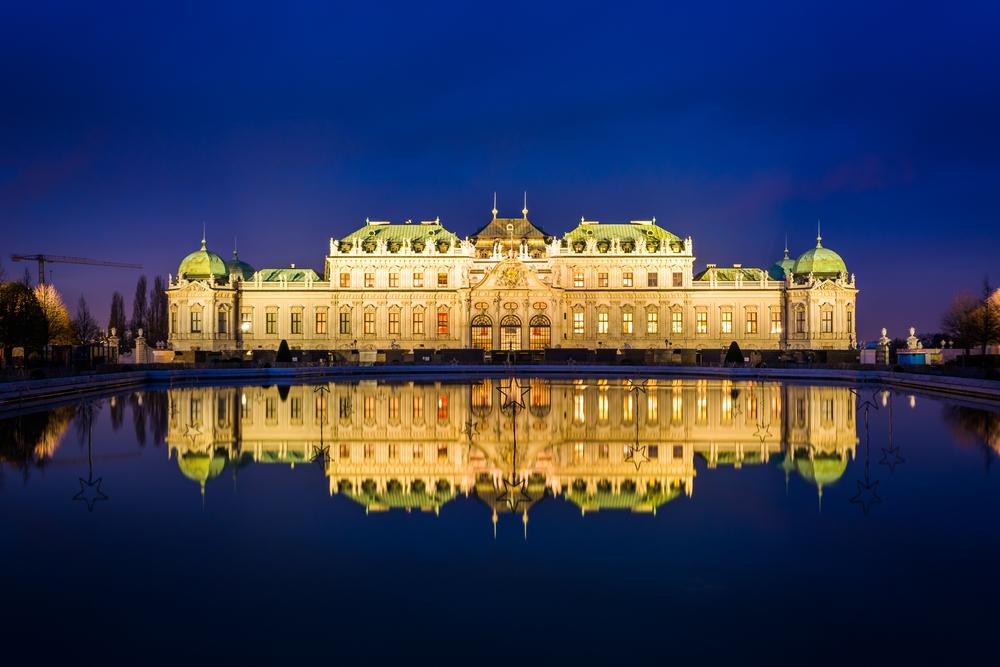 Belvedere palota Bécs