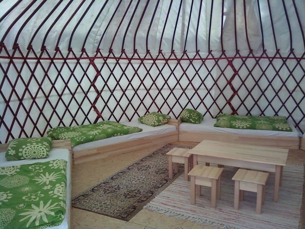 glamping jurta