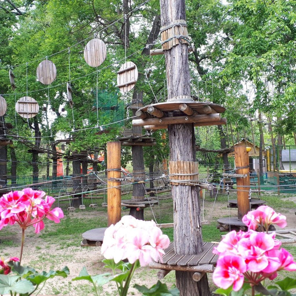 Legjobb kalandparkok Magyarországon -pesti Bókay kalandpark