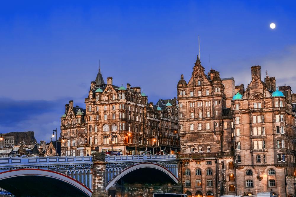 Edinburgh látnivalói New Town városnegyed