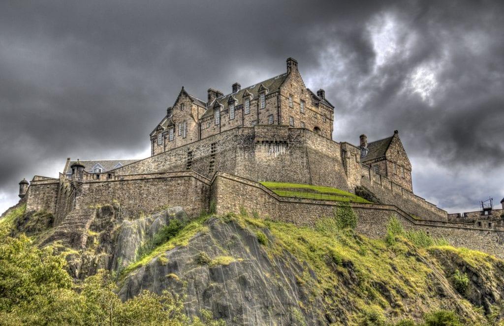 Edingburgh-i vár - TOP 10 Skócia fővárosában