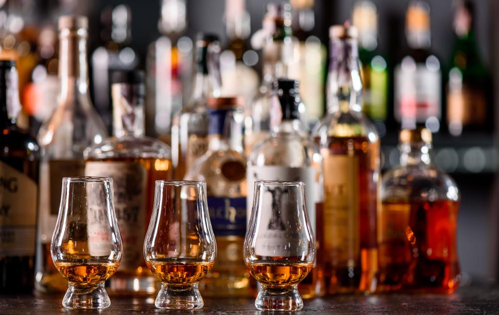 Látnivalók Edinburgh: skót whisky