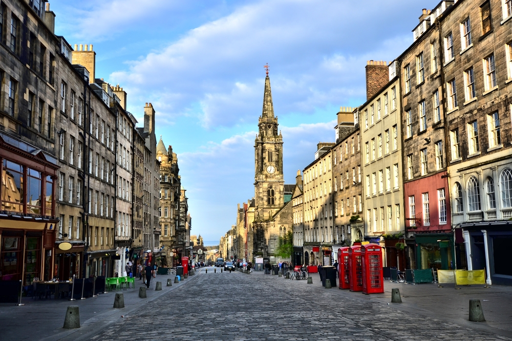 Edinburgh látnivalói: Royal Mile