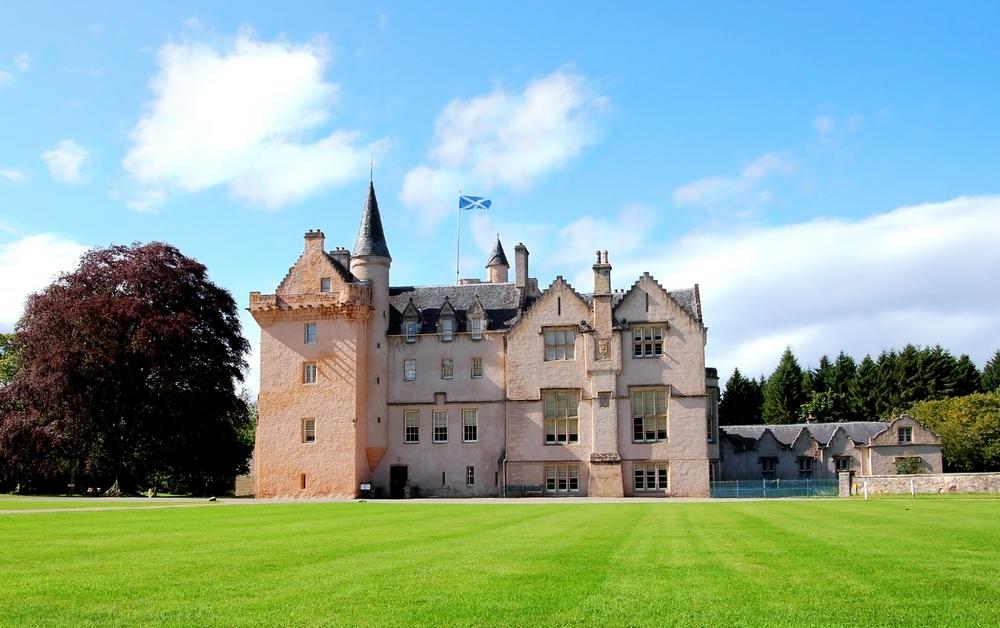 Látnivalók Skóciában: Brodie castle