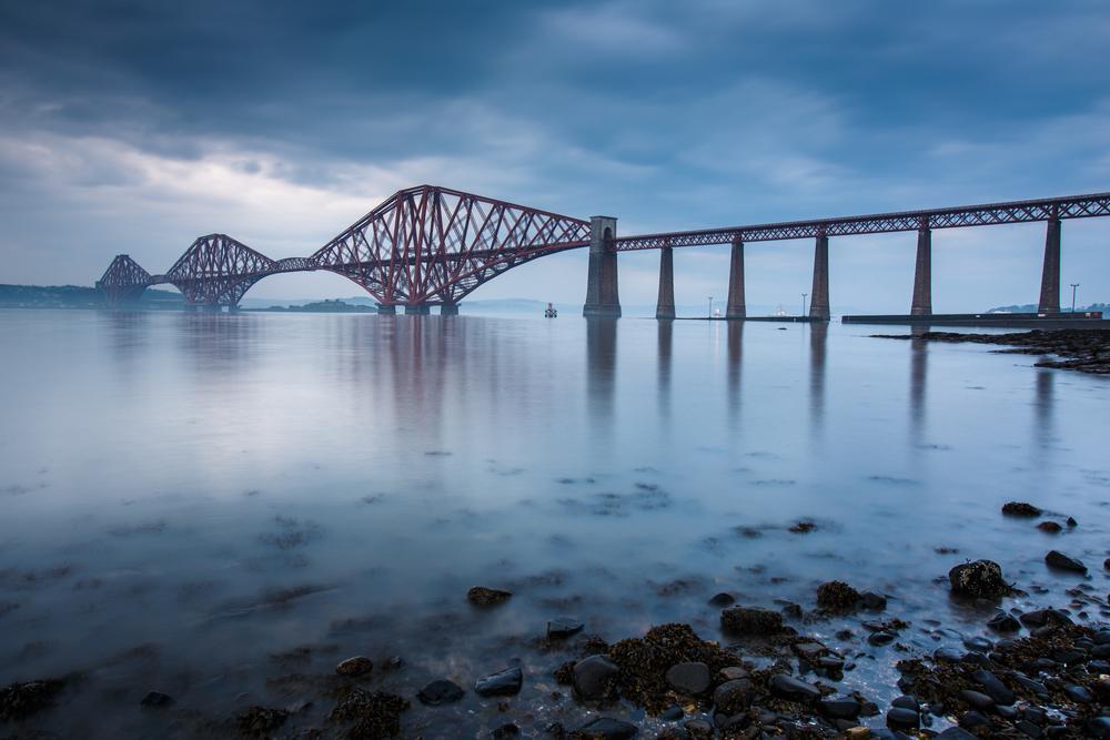 Edinburgh látnivalói:  Forth Bridge