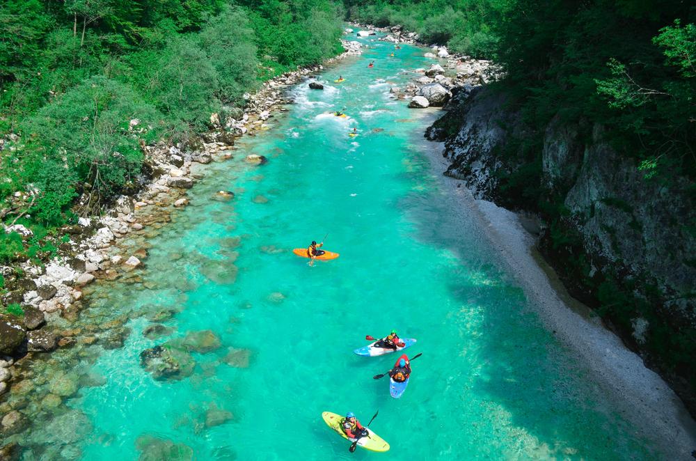 rafting szlovénia