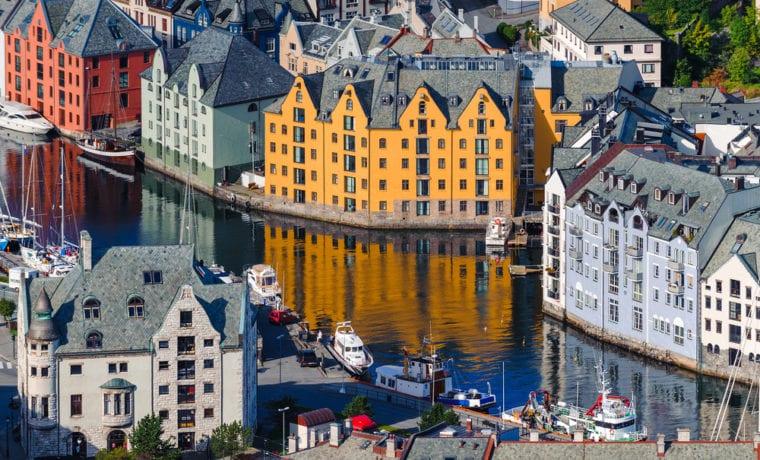 3 skandináv város