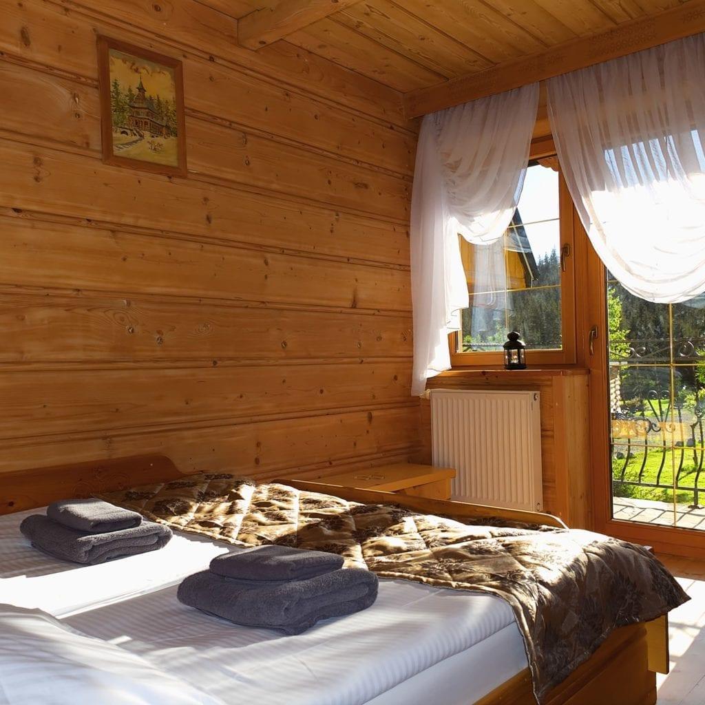 Kandallós szálláshelyek Lengyelországban