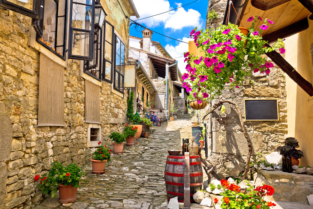 A világ legkisebb városa Horvátországban