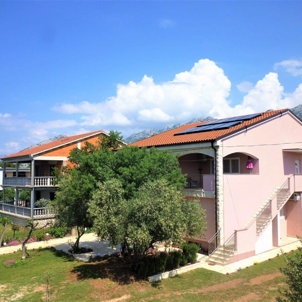 Legjobb horvátországi apartmanjaink