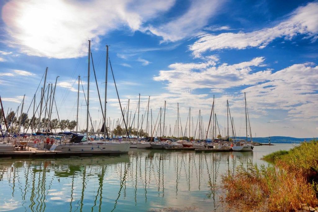 Balatonlelle kikötő