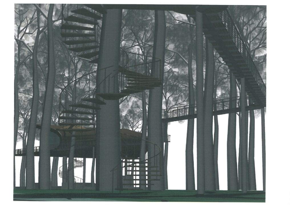8 méter magas, 400 méter hosszú lombkoronasétány épül a Tisza-parton!