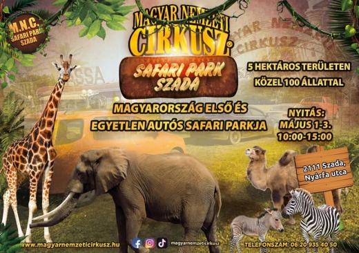 Magyarország első szafari parkja nyit hamarosan