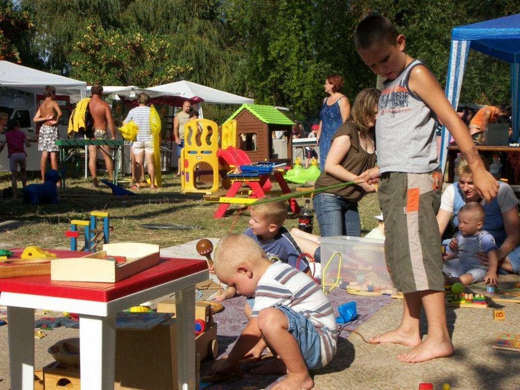 családi programok a Balatonnál