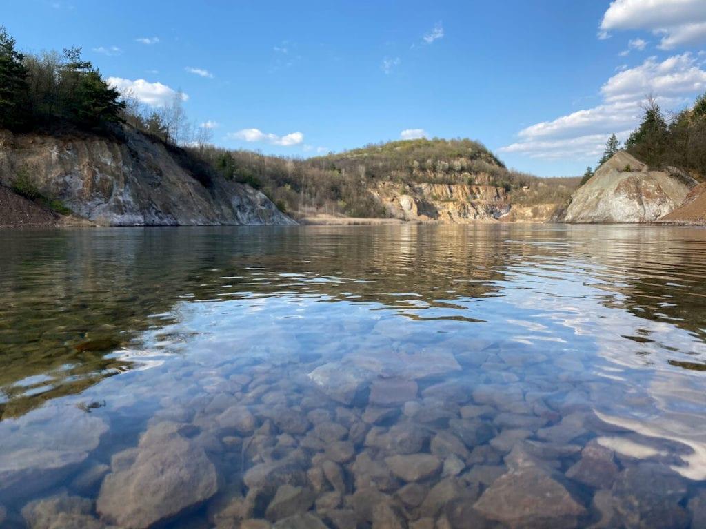 Látogatás a festői szépségű rudabányai tónál