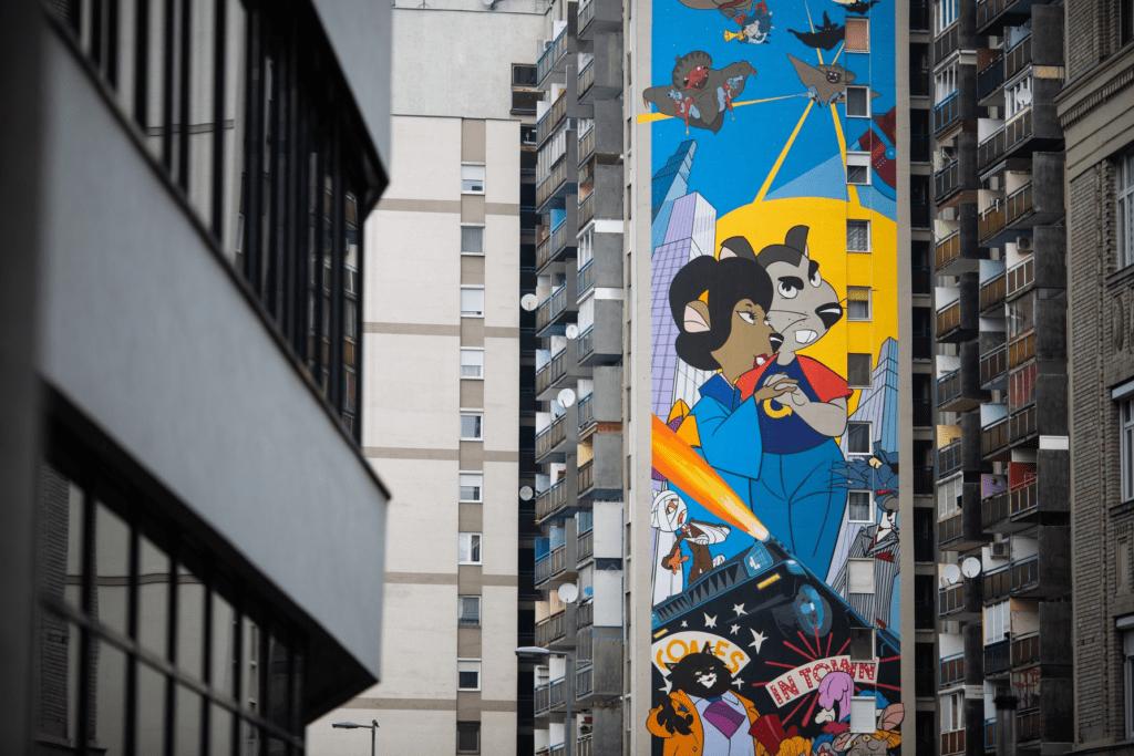 Budapest, a színes város – Láttad már a legszebb utcai falfestményeket?