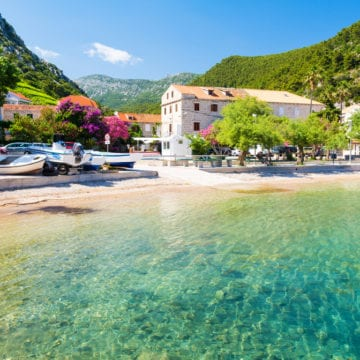 10 csodálatos tengerpart Horvátországban