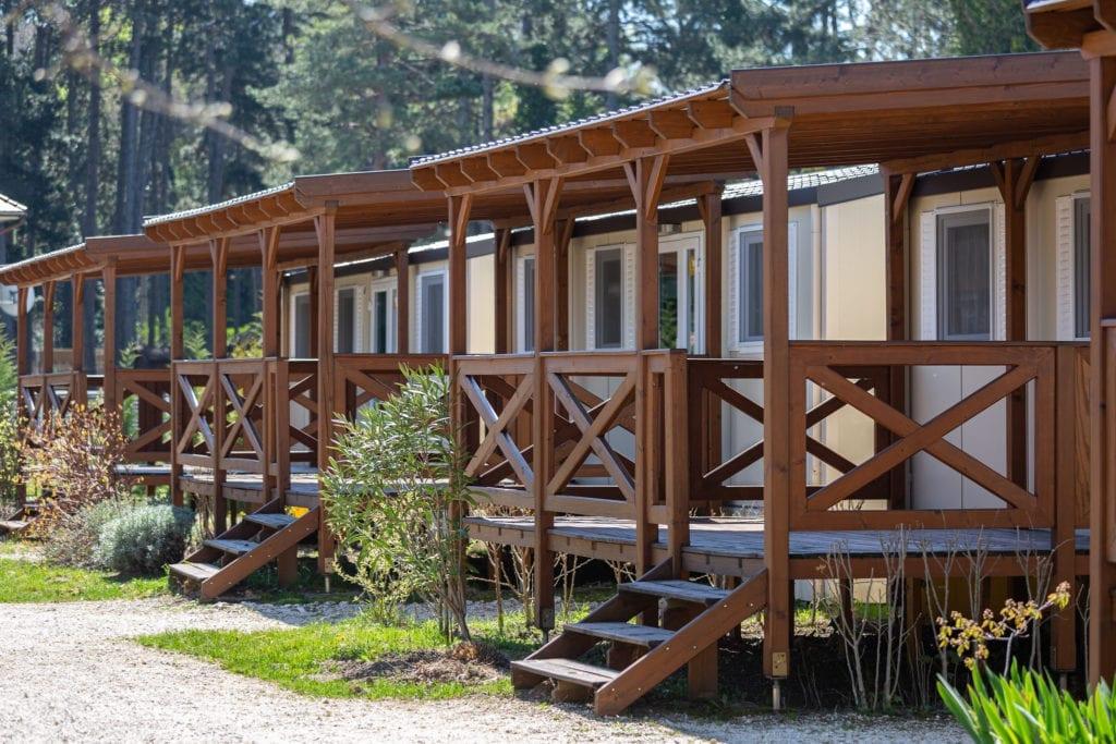 Aranypart és Mirabella Camping