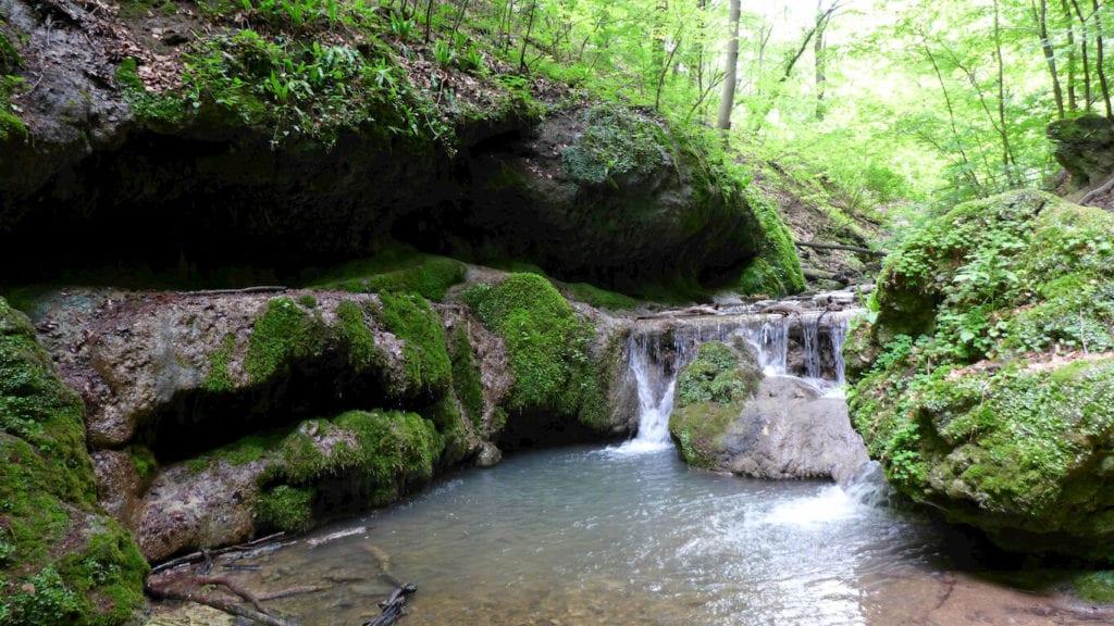 Tündérlépcső, Csepegő-szikla, Bodzás-forrás - Az Óbányai-völgy vadregényes kincsei