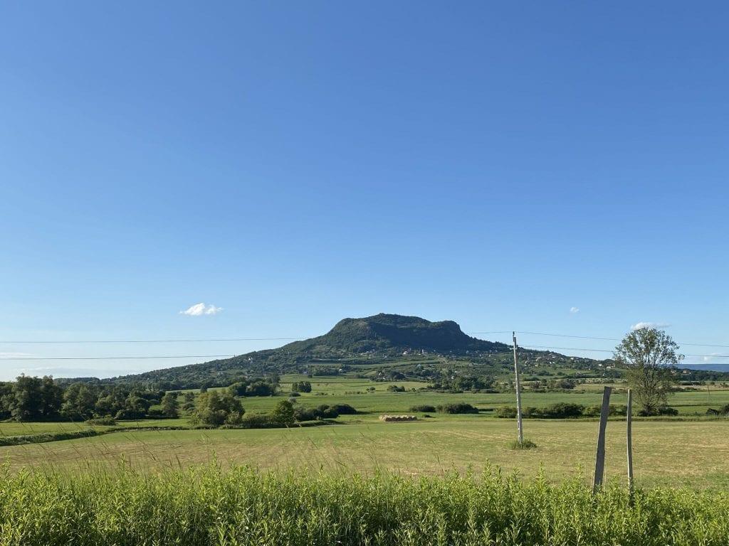 Szent György – hegy, a Balaton panorámája