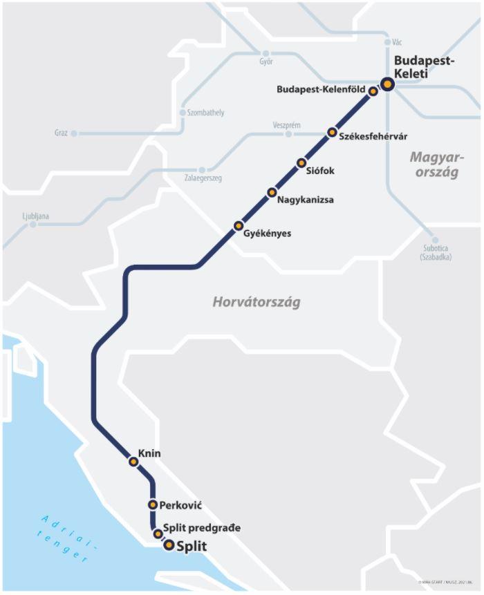 Újra jár az éjszakai vonat az Adriára! Tudnivalók, megállók és szállások a környéken